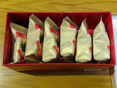 佳德(ChiaTe)のパイナップルケーキ6個入り×2箱